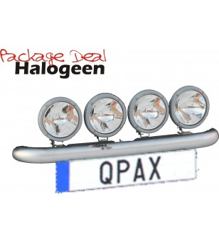 QPAX-Wide 4 Lights Halogen (excl lights)