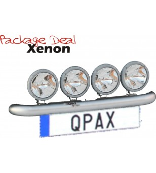 QPAX-Wide 4 Lights Xenon (excl verstralers) - pqx4w - Overige accessoires - Unspecified