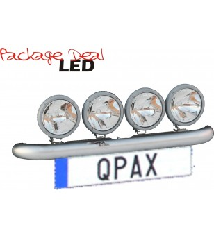 QPAX-Wide 4 Lights LED (excl verstralers) - pql4w - Overige accessoires - Unspecified