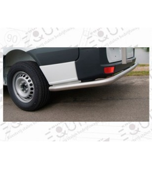 Fiorino 2008- WB 2512, Rearbar RVS  - 030.06.04A.001 - Rearbar / Opstap - Unspecified