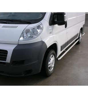 Ducato 2006- L1 H1, Sidebar set polished stainless