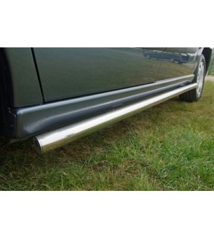 Ducato 2006- L1 H1, Sidebar set polished stainless - 020.06.03B.002.03 - Sidebar / Sidestep - Unspecified - Verstralershop