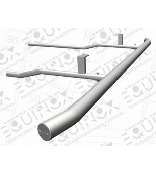 Ducato 2006- L3 H2/H3, Sidebar set brushed stainless