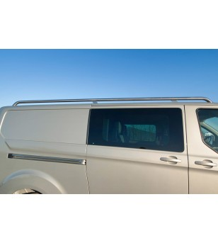 Connect L1 H1 2014- roofrails RVS  - 015.07.01B.001 - Roofbar / Roofrails - Unspecified