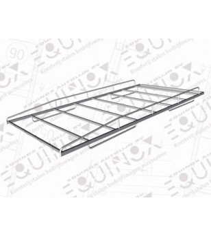 H300 2008- H1, roof rack stainless, car with rear doors - 110.08.03A.004 - Roofrack - Verstralershop