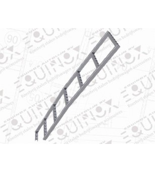 H300 2008- WB 3200 H1, ladder stainless - 040.08.03A.001 - Other accessories - Verstralershop