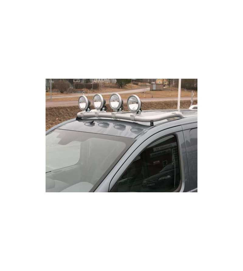 Scudo 07- T-Rack front - TF90005 - Roofbar / Roofrails - QPAX T-Rack