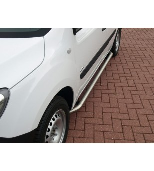 Citan L1, Brushed sidebar set stainless