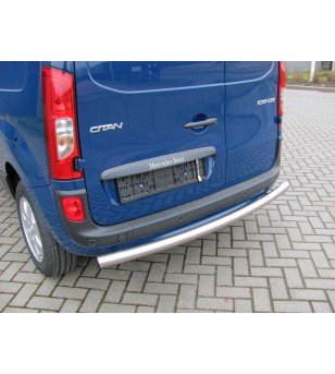 Citan L1, rolled rear-bar stainless - 030.15.07A.001 - Rearbar / Rearstep - Unspecified - Verstralershop