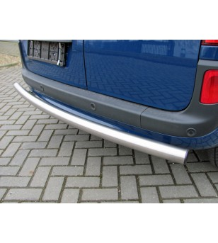 Citan L3, rolled rear-bar stainless