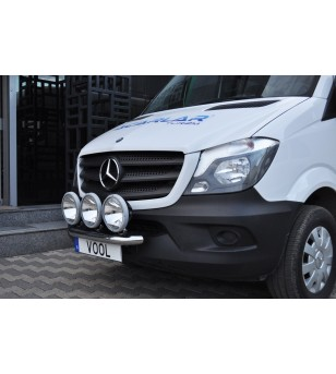 Mercedes Sprinter 2014+ Vool Lightbar 3 lights Stainless