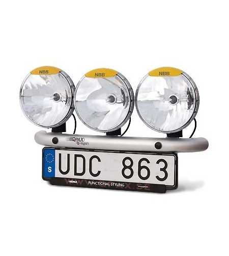 Q-Light Universeel 3 verstralers - Q900200 - Bullbar / Lightbar / Bumperbar - QPAX Q-Light