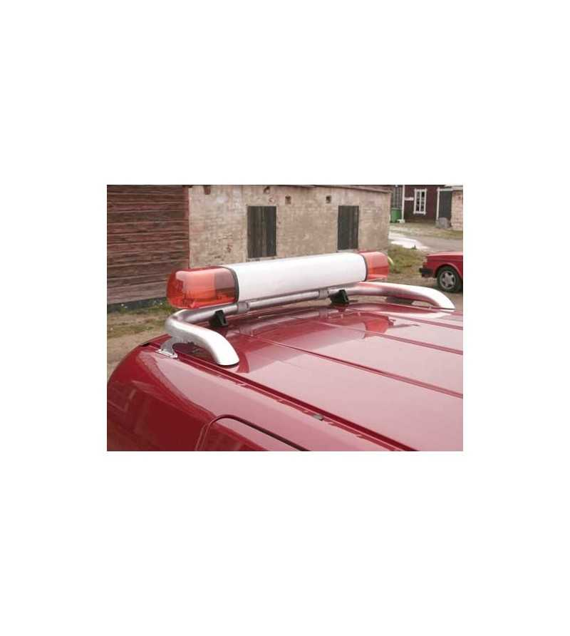 Fiorino 08- T-Rack rear - TB90047 - Roofbar / Roofrails - QPAX T-Rack - Verstralershop