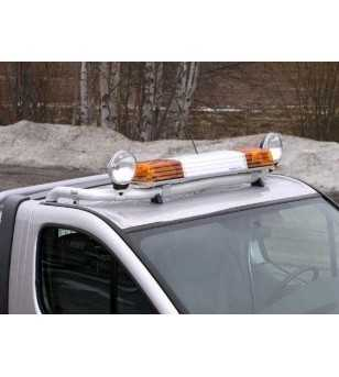 Primastar 02- T-Rack H1 front - TF90012 - Roofbar / Roofrails - QPAX T-Rack