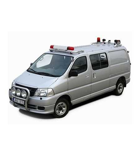 Hiace 07- T-Rack H1 front - TF90023 - Roofbar / Roofrails - QPAX T-Rack