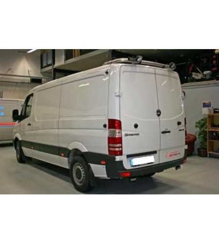 Sprinter 07- T-Rack H1 rear - TB90034 - Roofbar / Roofrails - QPAX T-Rack