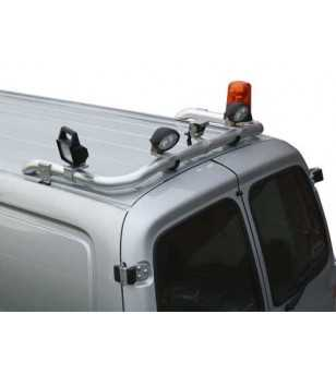 Hiace 07- T-Rack H1 rear - TB90032 - Roofbar / Roofrails - QPAX T-Rack