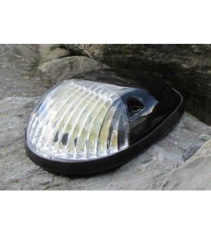 Rooflight 6-LED Black - Xenon white