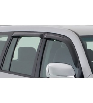 Landcruiser 150 09- Wind deflectors lightsmoke (set of 2 front) - 91292065B - Other accessories - Unspecified
