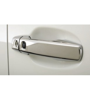 RENAULT CAPTUR 2013+ Door Handle Cover 4 Dr S.Steel (W.Hole/Sensor)