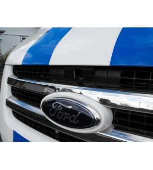 FORD TRANSIT 2007+ Front Grill 2 St. rvs hoogglans - 1212400007 - RVS / Chrome accessoires - Unspecified