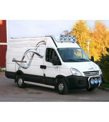 Daily 07- T-Rack H2/H3 front - TF90007 - Roofbar / Roofrails - QPAX T-Rack