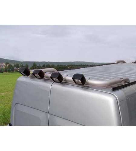 Movano -03 T-Rack H2 rear - TB90017 - Roofbar / Roofrails - QPAX T-Rack
