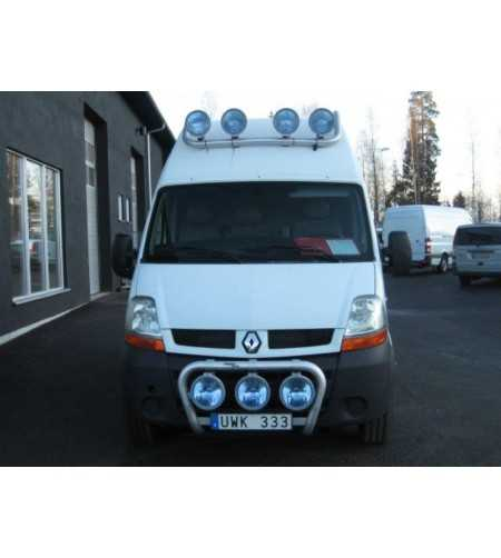Mascott 04- T-Rack H2/H3 front - TF90019 - Roofbar / Roofrails - QPAX T-Rack