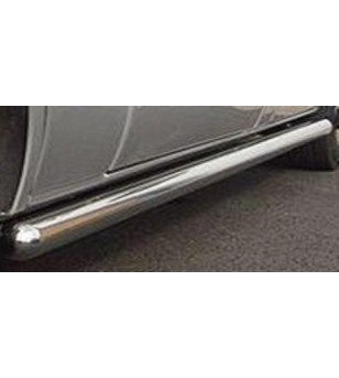 VOLKSWAGEN T5 SWB 2003+ Plain Side Bars (set) 70 mm - 7522997S - Sidebar / Sidestep - Unspecified - Verstralershop