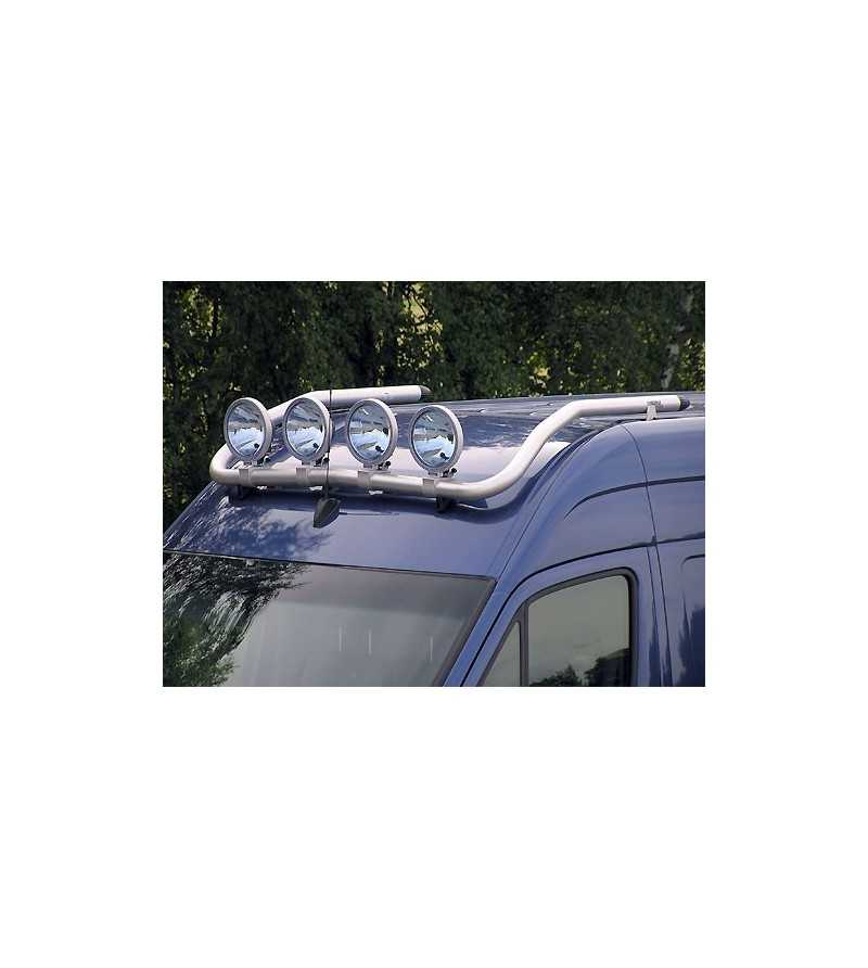 Crafter 07- T-Rack H2 front - TF90021 - Roofbar / Roofrails - QPAX T-Rack