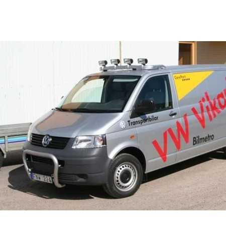 Transporter T5 03- T-Rack H1 front - TB90033 - Roofbar / Roofrails - QPAX T-Rack