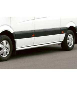 Mercedes Sprinter 07- S-Bar L1 - S900020 - Sidebar / Sidestep - QPAX S-Bar