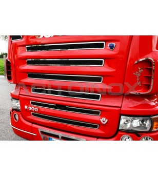 Scania R AIR INTAKE SURROUND - 045S - Grille - Acitoinox - Italian series