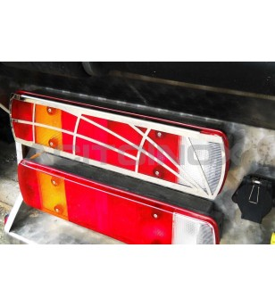 Scania L - STOP LIGHT COVER - 026SRAGNA - Stainless / Chrome accessories - Acitoinox - Italian series - Verstralershop