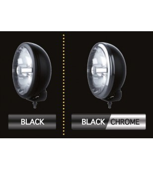 Cibie Oscar LED Black & Chrome