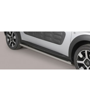 Citroën C4 Cactus 2015 side protections Inox stainless steel - TPS/378/IX - Bullbar / Lightbar / Bumperbar - Unspecified