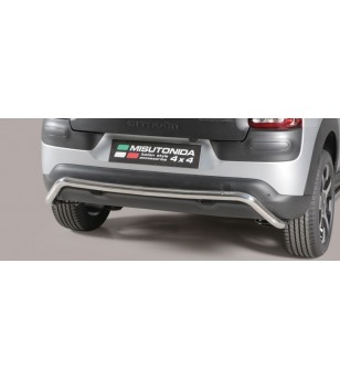 Citroën C4 Cactus 2015 rear protection Inox stainless steel
