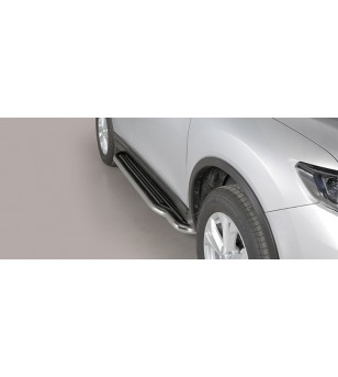 Nissan X-Trail 2015 Sidesteps Inox ø50 stainless steel - P/379/IX - Bullbar / Lightbar / Bumperbar - Unspecified