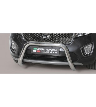Kia Sorento 2015- EC Approved Super Bar Inox ø76 - EC/SB/388/IX - Bullbar / Lightbar / Bumperbar - Unspecified