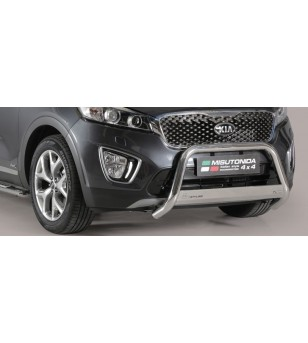 Kia Sorento 2015- Medium Bar Inox rvs - MED/388/IX - Bullbar / Lightbar / Bumperbar - Unspecified