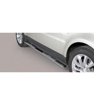Range Rover Sport 2014 Design Side Protections Inox rvs