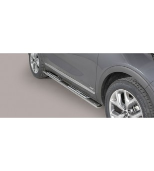 Kia Sorento 2015 Design Side Protections Inox stainless steel - DSP/388/IX - Other accessories - Verstralershop