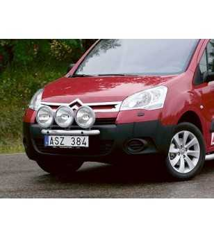 Berlingo 08- Q-Light/3 - Q900049 - Bullbar / Lightbar / Bumperbar - QPAX Q-Light - Verstralershop