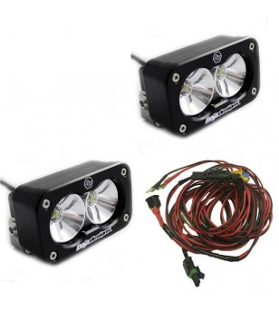 Baja Designs S2 Pro - Pair Driving-Combo LED - 487803 - Lighting - Baja Designs S2 Pro - Verstralershop