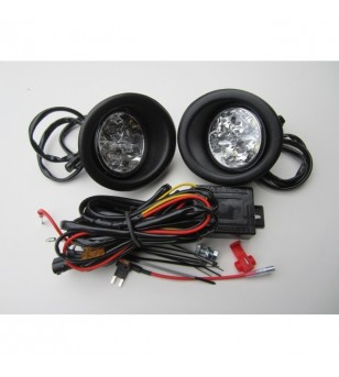 Movano 10+ Day Time Running Light Kit Black