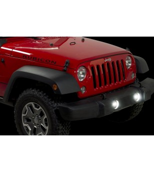 Putco Luminix High Power LED Mistlichten 07-15 Wrangler JK with Harness