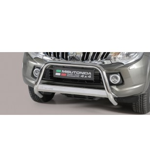 Juke 10- Medium Bar ø63 Inscripted EU - EC/MED/K/390/IX - Bullbar / Lightbar / Bumperbar - Unspecified