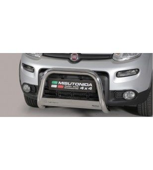 Panda 4X4 EC Approved Medium Bar Inox - EC/MED/356/IX - Bullbar / Lightbar / Bumperbar - Unspecified