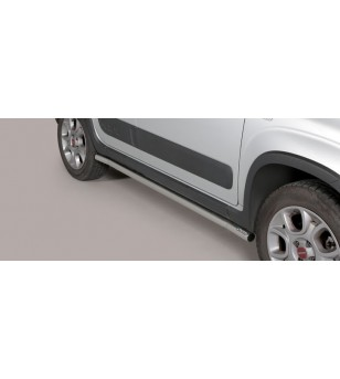 Panda 4x4 Side Protections Inox - TPS/356/IX - Bullbar / Lightbar / Bumperbar - Unspecified - Verstralershop