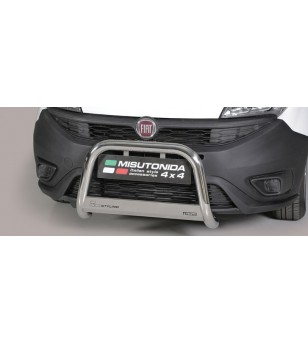 Doblò EC Approved Medium Bar Inox - EC/MED/387/IX - Bullbar / Lightbar / Bumperbar - Unspecified